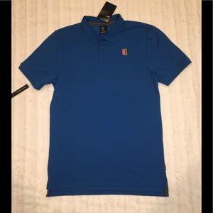 Nike NikeCourt Heritage Tennis Polo Shirt Pique